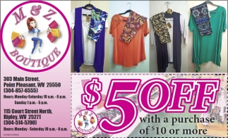 $5 Off With A Purchase Of $10 Or More